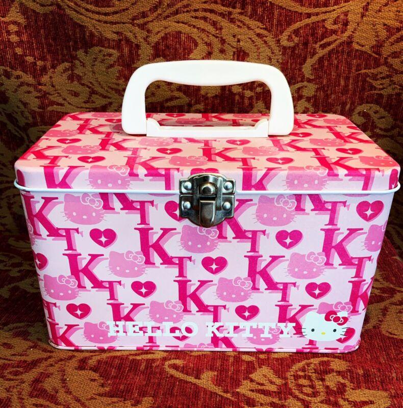 A Very Rare Sanrio 1976,2002 Hello Kitty Tin Box