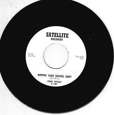 DON WILLIS - BOPPIN' HIGH SCHOOL BABY - ALL-TIME No 1 MEMPHIS ROCKABILLY - REPRO