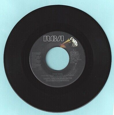 Daryl Hall & John Oates - Rich Girl - London Luck & Love - RCA Records 45