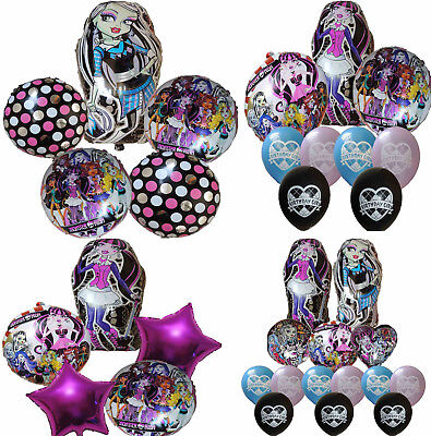 MONSTER HIGH BALLOON BIRTHDAY PARTY BAG GIFT CENTERPIECE DECORATION FAVOR TOY
