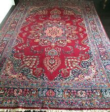 ANTIQUE KASHMAR PERSIAN TREASURE RUG- CIRCA 1930 - 283 x 198 Surry Hills Inner Sydney Preview