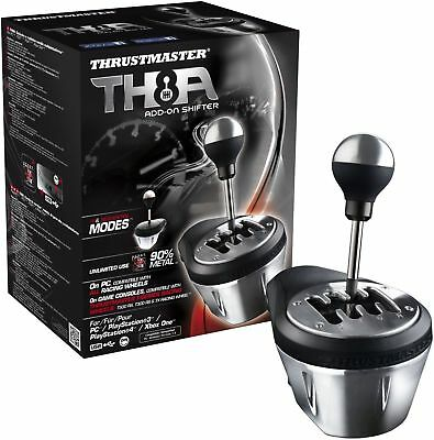 Thrustmaster Th8a Add On Gearbox Shifter For Pc  Ps3  Ps4 And Xbox One New