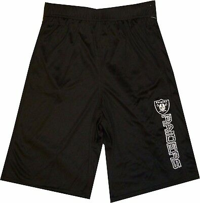 Oakland Raiders Youth Boys Shorts  Outerstuff Team Apparel 8-20 Clearance! - Clearance Boys