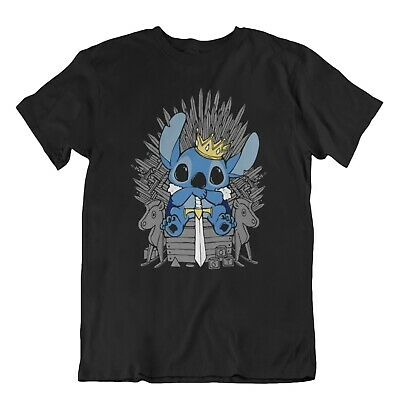Stitch King Game Of Thrones T-Shirt Disney Inspired Unisex Adults Shirt  (Inspirational Adult Tshirt)