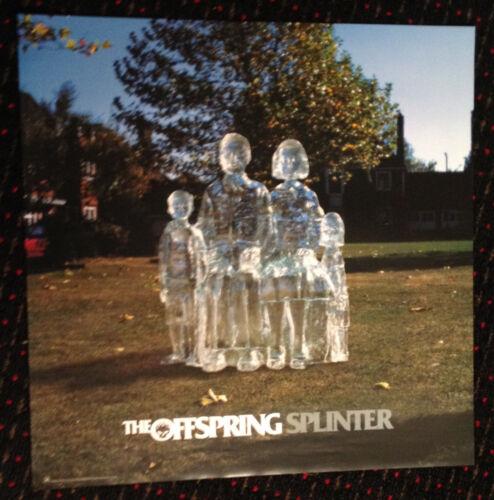 OFFSPRING Splinter 24x24 original record store display promo poster PUNK 2003