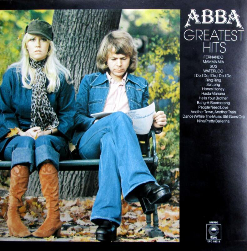 Abba Greatest Hits Lp Ebay