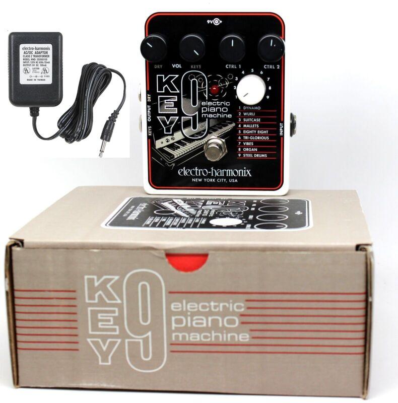 New Electro-Harmonix KEY9 Electric Piano Machine (KEY 9) Guitar Pedal EHX