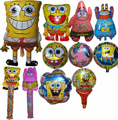 Spongebob Centerpieces (SPONGEBOB SQUAREPANTS BALLOON BIRTHDAY PARTY BAG GIFT CENTERPIECE)