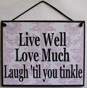Live Laugh Love Bathroom Decor Live Love Laugh Sign Inspire Inspirational  Home Decor 39 Til .
