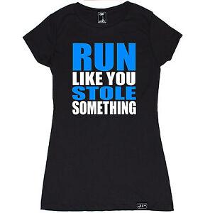 Women t shirt run gym workout jog crossfit running for Funny crossfit t shirts