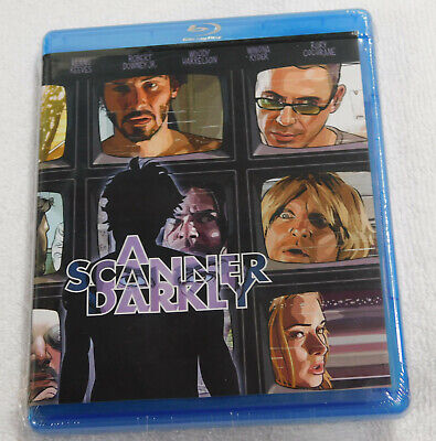 A Scanner Darkly Blu-Ray NEW Philip K. Dick Keanu Reeves Robert Downey Jr