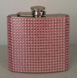 Pink crystal flask Bethania Logan Area Preview