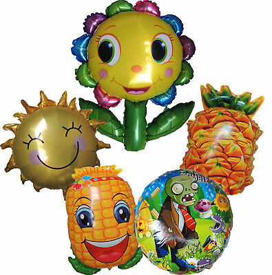 PLANTS VS ZOMBIES BALLOON KIDS BIRTHDAY PARTY BAG GIFT CENTERPIECE DECOR TOY - Plants Vs Zombies Party Decorations