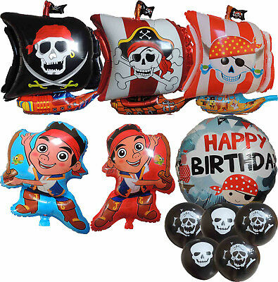 JAKE AND THE NEVERLAND PIRATES BALLOON OCEAN TREASURE HUNT PARTY SUPPLIES DECOR - Jake And The Neverland Party