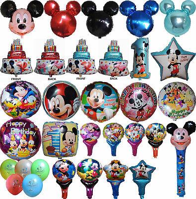 MICKEY MOUSE BALLOON PARTY LOLLY BAG TREAT BOX FILLER GIFT DECOR CENTERPIECE TOY - Lollipop Balloons
