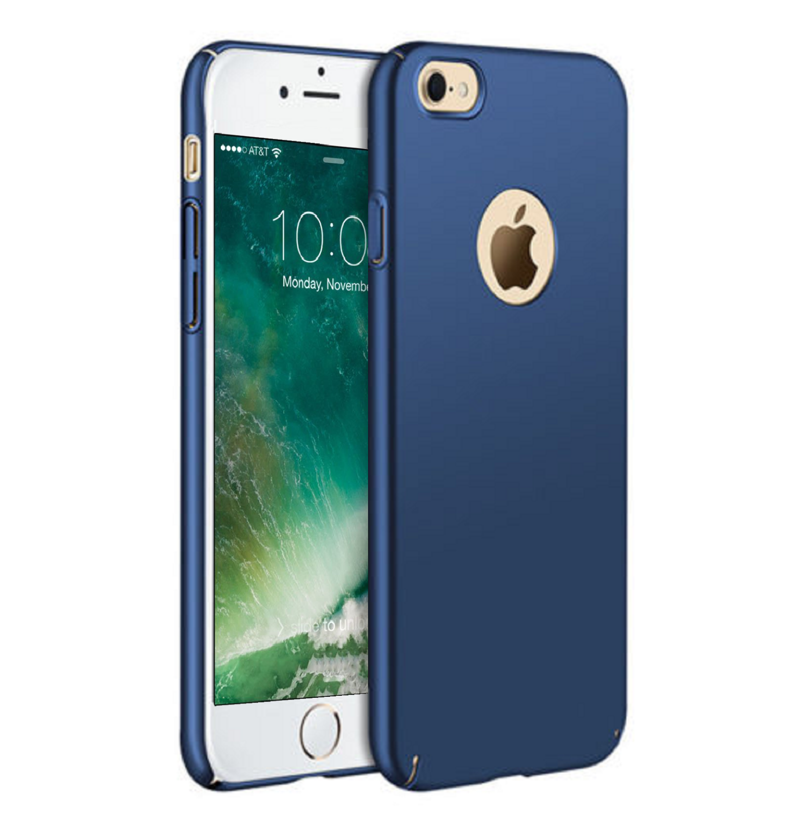 Купить Pro Glass + - For iPhone 6 6s 7 8 Plus X XR XS Max Case Shockproof Ultra Thin Slim Hard Cover