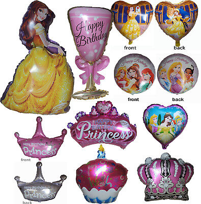 PRINCESS BELLE BEAUTY AND THE BEAST BALLOON GIRL THEME PARTY SUPPLIES DECORATION - Princess Birthday Themes