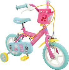 """Peppa Pig My First Bike 12"""" Wheel Kids Bicycle Steel Frame Childrens Girls Bike"""