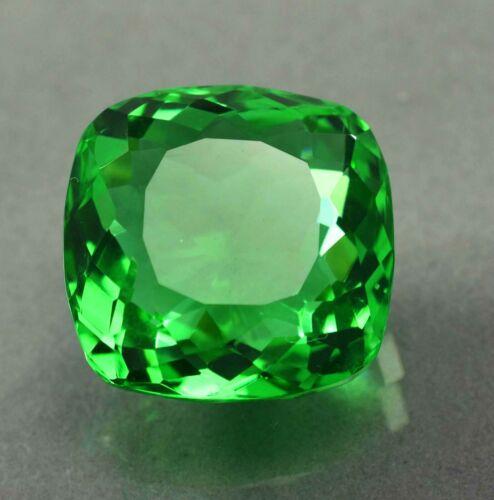 35.20 Ct Natural UNTREATED UNHEATED EMERALD AA+CUT Certified Loose Gemstone