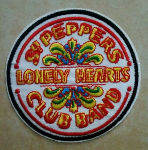 The BEATLES Embroidered PATCH Sgt. Peppers  Lonely Hearts Club Band