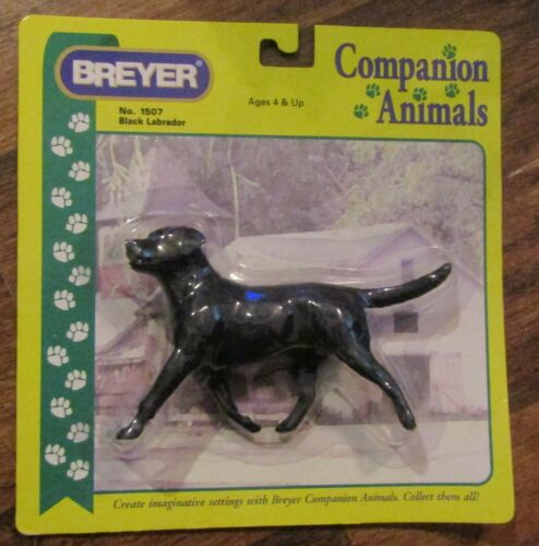BREYER Black Labrador Dog Companion Animals NEW