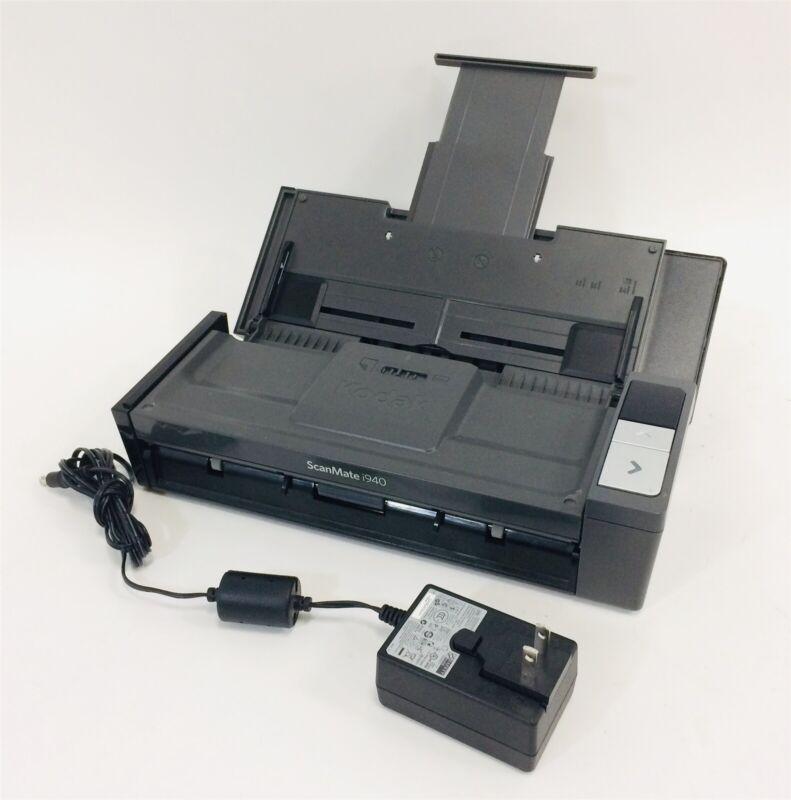 Kodak Scanmate i940 duplex Document scanner w/ AC and USB
