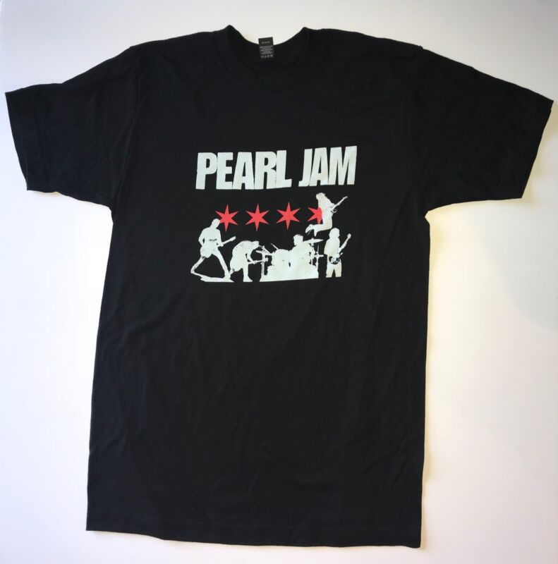 Pearl Jam t-shirt 3x chicago wrigley field 2018 tour pj history t shirt new