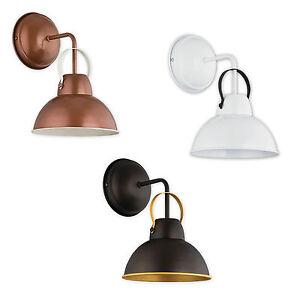 Modern Chandelier Wall Lights : Wall light Copper Vintage Lampshade Industrial Retro Modern Chandelier Ayla NEW eBay