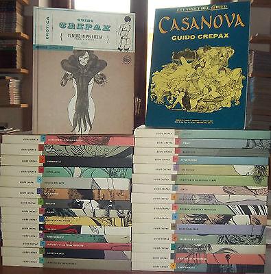 CREPAX: collana EROTICA Serie Completa 1/30 ed. Mond.+OMAGGIO Casanova ed. Grifo