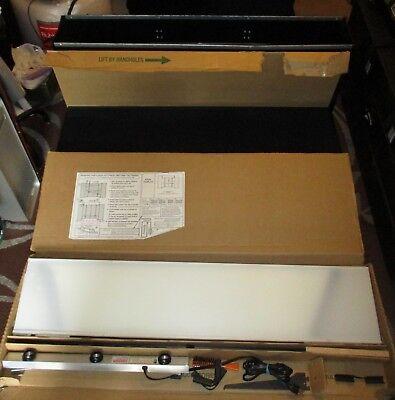 Downing Displays Folding 6 Panel - 360 Table Top Display Black