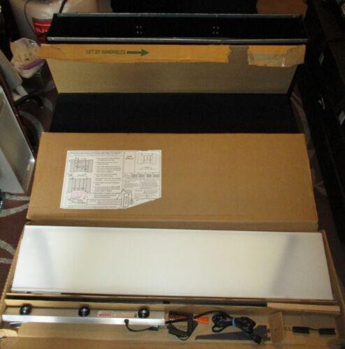 Downing Displays Folding 6 Panel - 360 Table Top Display (Black)