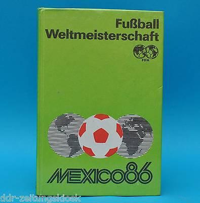 DDR   Fußball-Weltmeisterschaft Mexiko 1986   Friedemann Hempel   1987