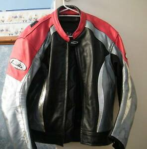 Motorbike leather jacket - Collins. Torquay Fraser Coast Preview