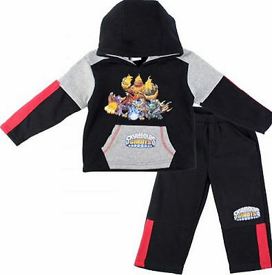 Kids Boys SKYLANDER Hero Character Hooded Tracksuit Outfit & Sets,2 4 6 8 YRS (Skylander Outfits)