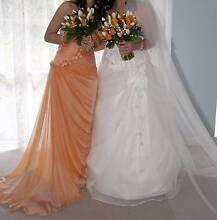 Hoop skirt beneath wedding dress, 3 hoops, OSFA Hawthorndene Mitcham Area Preview
