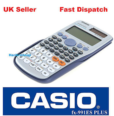 Casio FX-991ES Plus Scientific Calculator with 417 Functions
