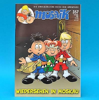 Mosaik Abrafaxe 357   September 2005   (DDR) Sammler ZS 1   Wiedersehen in ...