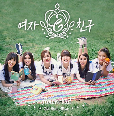 GFRIEND GIRL FRIEND 2nd Mini Album [Flower Bud] CD+Photobook+Photocard Sealed