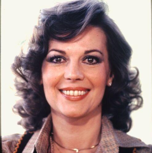 NATALIE WOOD - US Actress - Original Vintage 35mm Slide - 1980