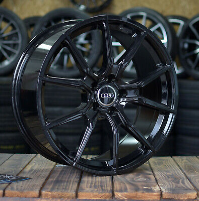 20 Zoll V-Wheels V1 Alu Felgen 5x112 schwarz für Audi RS5 RS6 RS7 SQ7 SQ5 RSQ3