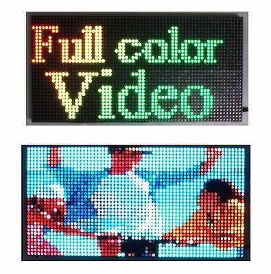 25x 12 Full Color Video P10 Led Sign Programmable Scrolling Message Display