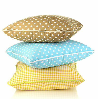 Bright, summer cushions will give your living room a whole new look