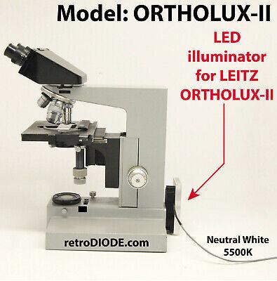 Model Ortholux-ii 10 Watt Led Illuminator For Leitz Microscopes