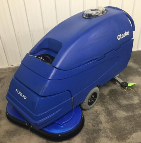 "Clarke Focus S33"" Automatic Floor Scrubber.  FREE ADD-ON ITEM"