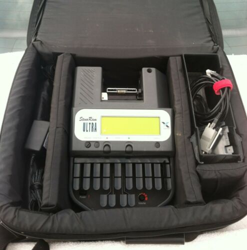 Xscribe Ultra court reporting writer with accessories. Very good condition