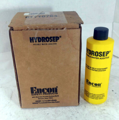 1 NEW CASE OF ENCON 9MDH9 HYDROSEP POTABLE WATER ADDITVE (QTY 4) NIB