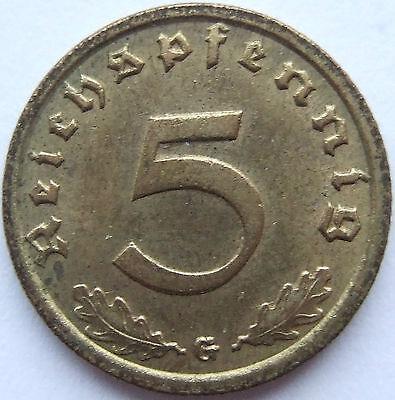 TOP! 5 Pf 1936 G in VORZÜGLICH / STEMPELGLANZ SEHR SELTEN !!!