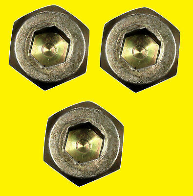 3 Pack Kubota K5651-34370 K5651-34372 Blade Bolt Zd321 Zd326s Mower M12 X 1.25