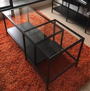 Coffee and Side Table: IKEA: VITTSJÖ St Kilda Port Phillip Preview