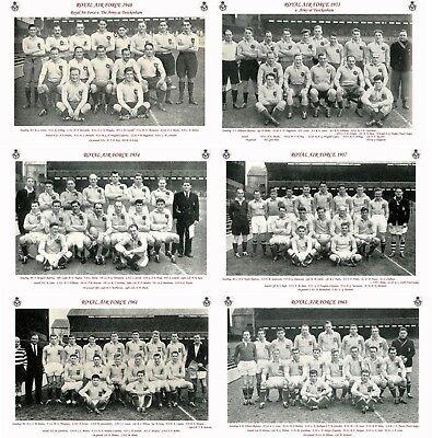 "13 ROYAL AIR FORCE RUGBY TEAMS 1948 - 1963 PHOTOGRAPH BUNDLE 6"" X 4"" (15 x 10cm)"